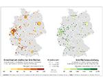 Erreichbarkeit von Grünflächen in Städten – ein bundesweiter Überblick