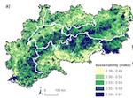 Analyse räumlicher Übereinstimmungen und Diskrepanzen zwischen Angebot, Nachfrage und aktuellem Nutzen von Ökosystemleistungen und nachhaltiger Entwicklung