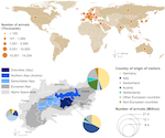 Globale und regionale Flüsse von Ökosystemleistungen von und nach Bergregionen